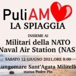 Puliamo la Spiaggia, sabato mattina a Sant'Agata anche i militari Usa della Nato