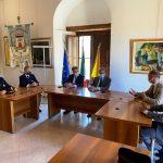 """Il Questore Capoluongo in visita a Sant'Agata. Mancuso: """"Sinergia istituzionale per la sicurezza"""""""