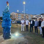 """""""Salviamo il mare"""". La nuova opera del maestro Ettore Merlino splende a villa Falcone e Borsellino"""