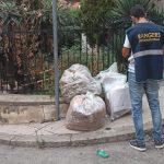 Abbandono dei rifiuti per strada, proseguono controlli e multe