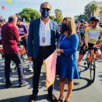 Giro di Sicilia, la bella festa per la partenza a Sant'Agata. I ringraziamenti dell'assessore Valeria Fazio